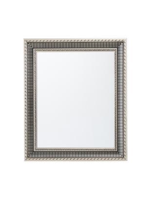 Espejo de pared Paris, Parte trasera: tablero de fibras de dens, Espejo: cristal, Marco: plateado Espejo: cristal, An 52 x Al 62 cm