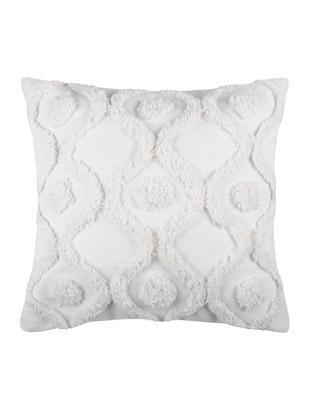 Poduszka z wypełnieniem Sicilia, Bawełna, Biały, S 40 x D 40 cm