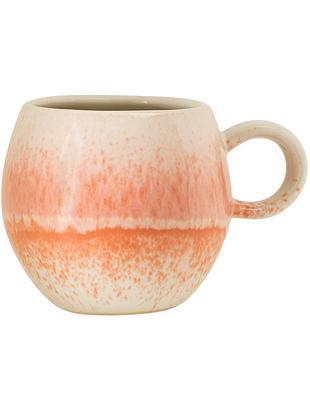Tazza Paula, Ceramica, Arancione, crema, Ø 9 x A 8 cm