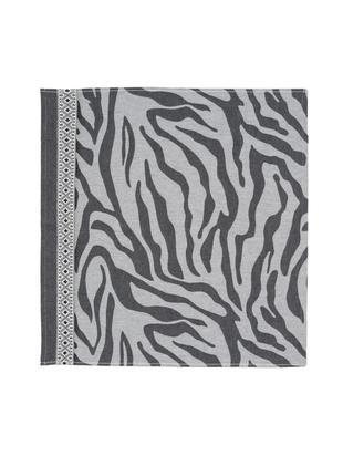 Ręcznik kuchenny Africa, 6 szt., Bawełna, Czarny, biały, S 60 x D 65 cm