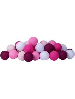 Girlanda świetlna LED Colorain, Odcienie różowego, biały, D 230 x W 10 cm