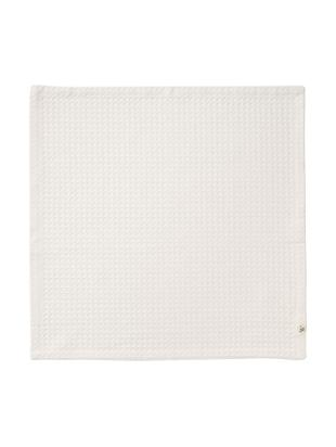 Servilletas Cubes, 6uds., Algodón, Blanco crudo azulado, An 50 x L 50 cm
