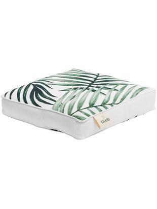 Cuscino sedia Coast, Verde, bianco, Larg. 40 x Lung. 40 cm