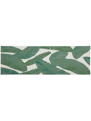 Chodnik wewnętrzny/zewnętrzny Jungle, Biały, zielony, S 80 x D 250 cm