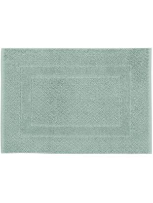 Alfombrilla de baño Katharina, 100%algodón, gramaje superior, 900g/m², Verde menta, An 50 x L 70 cm