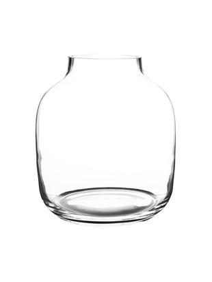 Vaas Yanna, Glas, Transparant, Ø 26 x H 29 cm