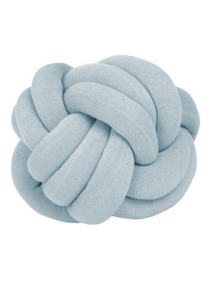 Mała poduszka Twist, Jasny niebieski, Ø 30 cm