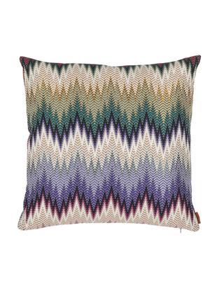 Cojín de diseño Phrae, con relleno, Funda: 57%algodón, 26%poliéste, Multicolor, An 40 x L 40 cm