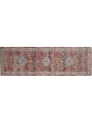 Niederflor-Läufer Kashan Age, Flor: Polypropylen, Beige, Rottöne, 60 x 180 cm