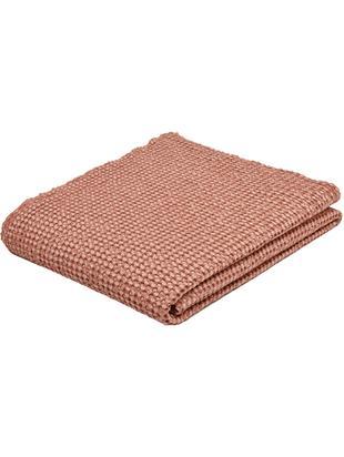 Tagesdecke Vigo mit strukturierter Oberfläche, Baumwolle, Helles Rosa, 220 x 240 cm