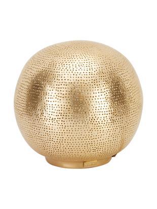 Lámpara de mesa Ball Filisky, Pantalla: latón, Cable: plástico, Latón, Ø 20 x Al 22 cm