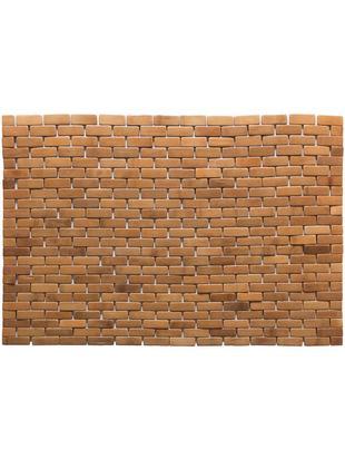 Mata łazienkowa z drewna bambusowego Mosaic, Drewno bambusowe, Drewno bambusowe, S 50 x D 80 cm
