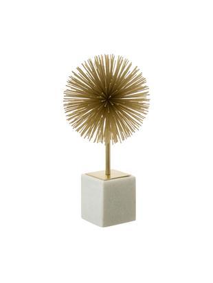 Oggetto da decorazione Marball, Ornamento: metallo, Dorato , bianco, A 30 cm