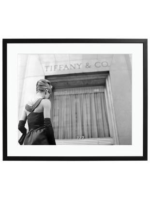 Ingelijste fotoprint Hepburn Breakfast at Tiffany's