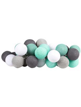 Girlanda świetlna LED Colorain, Zielony miętowy, odcienie szarego, biały, D 230 x W 10 cm
