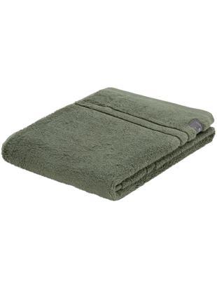 Asciugamano Premium Terry, 2 pz., Cotone, Qualità pesante, 600 g/m², Verde, Larg. 50 x Lung. 100 cm