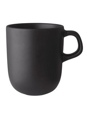 Tasses noir mat Nordic Kitchen, 4pièces