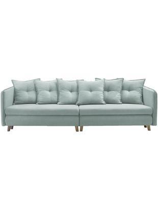 Sofa rozkładana z aksamitu Opti (4-osobowa)