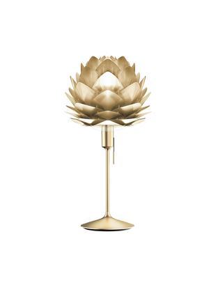Lámpara de mesa grandeSilvia, Pantalla: polipropileno, policarbon, Estructura: acero, Cable: plástico, Latón, Ø 32 x Al 67 cm