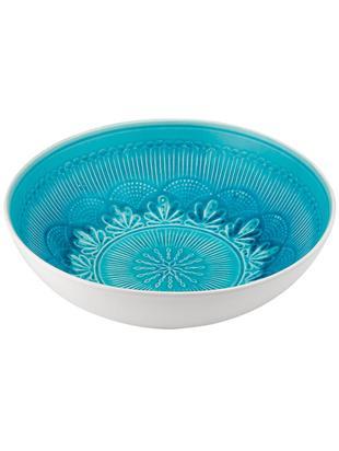 Misa Nadia, Kamionka, Niebieskozielony, biały, Ø 31 x W 8 cm