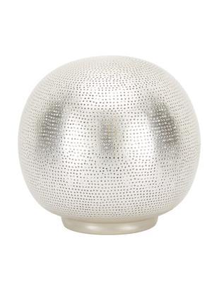 Lámpara de mesa Ball Filisky, Cable: plástico, Níquel, Ø 20 x Al 22 cm