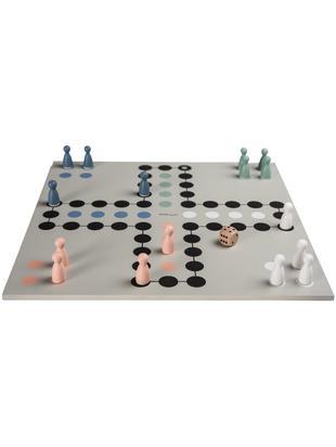 Gioco da tavolo Ludo Leona, Legno verniciato, Grigio, L 30 x P 30 cm