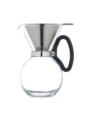 Zaparzacz do kawy Daisy, Transparentny, stal szlachetna, Ø 15 x W 23 cm