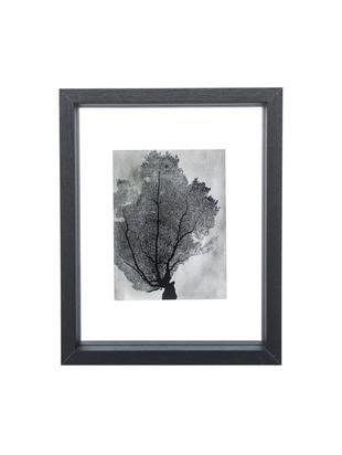 Bilderrahmen Look, Rahmen: Holz, beschichtet, Schwarz, Transparent, 15 x 20 cm