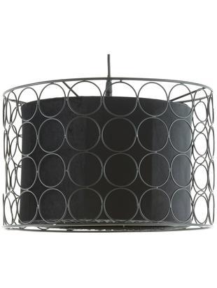 Lampa wisząca Ring, Czarny, Ø 40 x W 26 cm