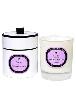 Duftkerze Aromatherapy (Lavendel), Behälter: Glas, Weiß, Rosé, H 9 x Ø 8 cm