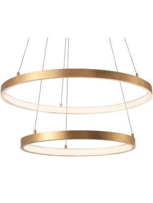 Lampa wisząca LED Leon, Odcienie mosiądzu, Ø 60 x W 150 cm