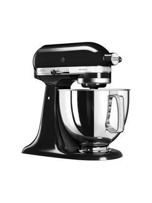 Robot da cucina - planetaria KitchenAid Artisan, Ciotola: acciaio inossidabile., Nero, Larg. 37 x Prof. 24 cm