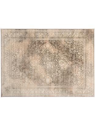Tappeto vintage Rugged, Beige, marrone, Larg. 170 x Lung. 240 cm (taglia M)