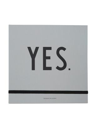 Libro di nozze Wedding, Nero, grigio, L 25 x A 25 cm