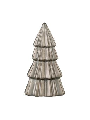 Adornos navideños Vionia, 2uds., Cerámica, Estaño, Ø 8 x Al 14 cm