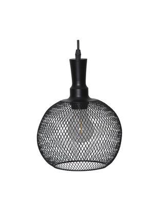 Zewnętrzna lampa solarna LED Sunlight, Metal, tworzywo sztuczne, Czarny, Ø 19 x W 24 cm