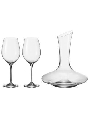 Klassisches Rotwein-Set Barcelona, 3-tlg., Glas, Transparent, Sondergrößen