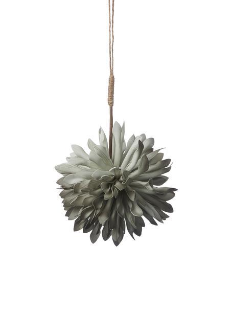 Baumanhänger Florisa, 2 Stück, Hellgrün, Ø 10 x H 14 cm