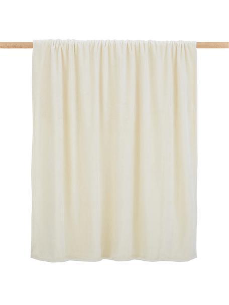 Kuscheldecke Doudou in Offwhite, 100% Polyester, Gebrochenes Weiss, 130 x 160 cm