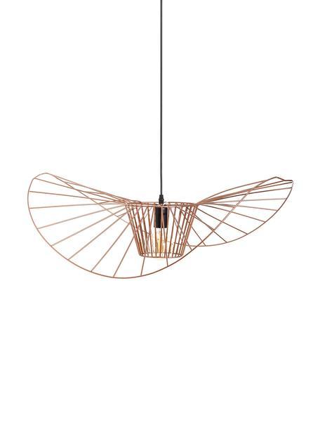 Lámpara de techo grande Stingray, Metal recubierto, Cobre, Ø 72 cm