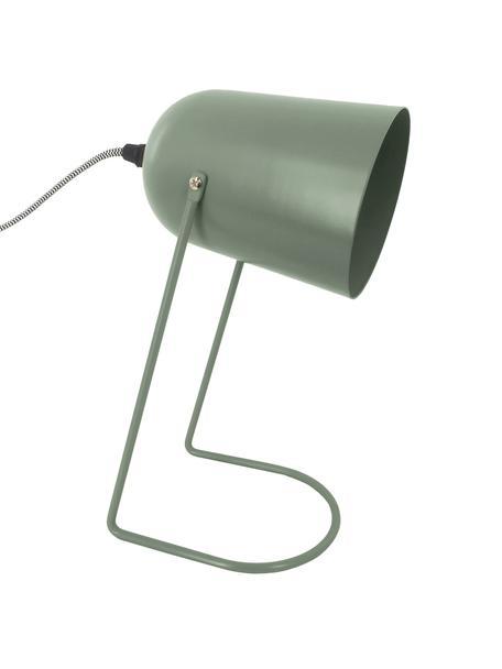 Mała lampa stołowa retro Enchant, Zielony, Ø 18 x W 30 cm