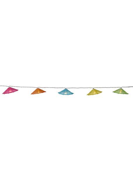 Lichterkette Umbrella, 165 cm, Lampions: Baumwolle, Mehrfarbig, L 165 cm