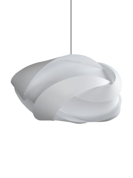 Duża lampa wisząca Ribbon, Biały, Ø 60 x W 28 cm