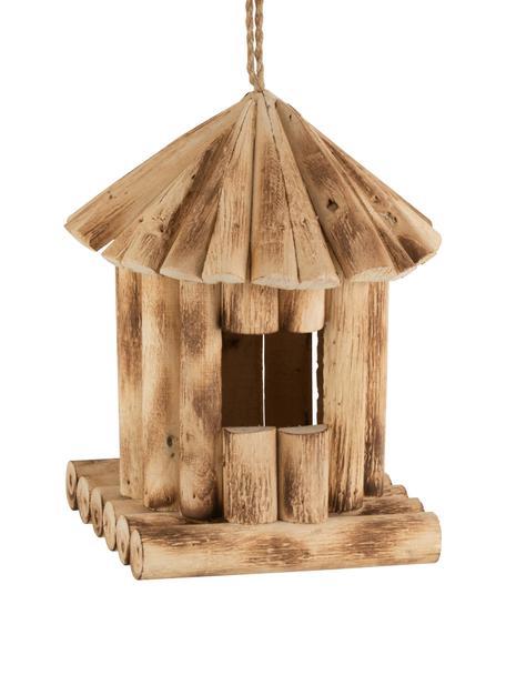 Karmnik dla ptaków Poplo, Drewno topolowe, Drewno topolowe, S 22 x W 28 cm