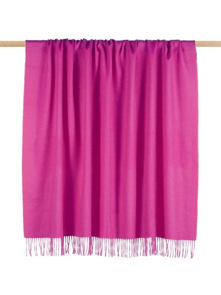 Babyalpaka-Decke Luxury in Pink, Pink, 130 x 200 cm