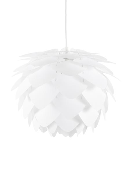 Pendelleuchte Silvia, Bausatz, Lampenschirm: Polypropylen, Weiss, Ø 32 x H 25 cm