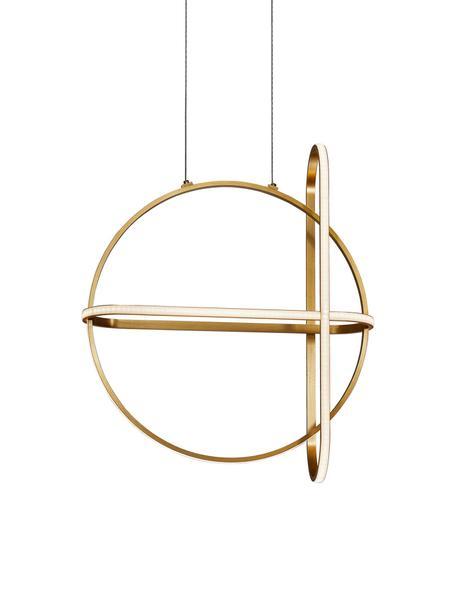 Lampa wisząca LED Arte, Odcienie mosiądzu, S 52 x W 61 cm