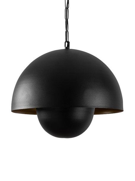 Pendelleuchte Yanigara im Industrial-Style, Lampenschirm: Metall, beschichtet, Baldachin: Metall, beschichtet, Schwarz, Ø 30 x H 86 cm