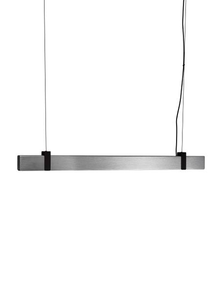 Lampada a sospensione a LED Lilt, Paralume: metallo, Acciaio spazzolato, Larg. 115 x Alt. 10 cm