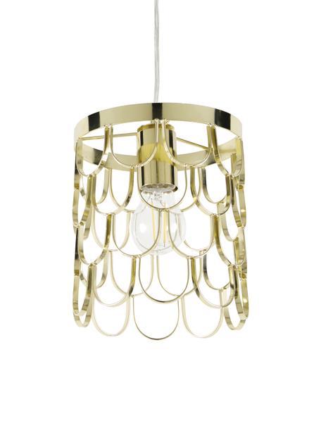 Design hanglamp Gatsby, Messingkleurig, Ø 18 x H 22 cm